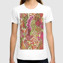 Paisly Pop Tangle #4 T-shirt