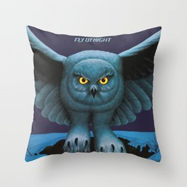 Rush Fly By Night Throw Pillow