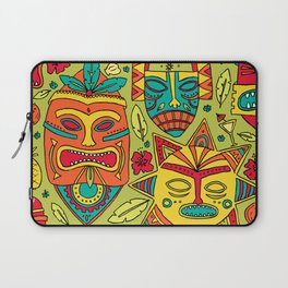 Tiki tiki Laptop Sleeve