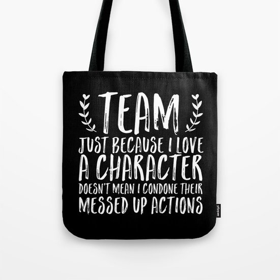 Team Truth (inverted) Tote Bag