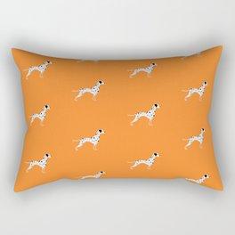 DALMATIANS ((tangerine)) Rectangular Pillow