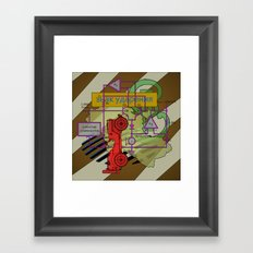 Compensatorial Framed Art Print