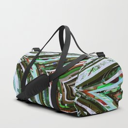 Nature Tree Veins Duffle Bag