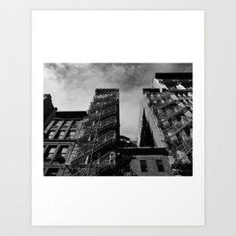 Look up New York 13 Art Print