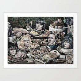 Buffet Still Life Art Print