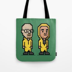 8-Bit: Breaking Bad Tote Bag