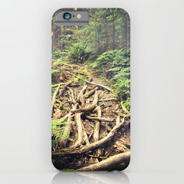 Misty Rainforest iPhone Case