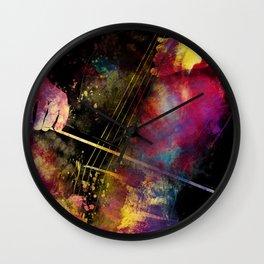 Violoncello art 1 #violoncello #cello #music Wall Clock