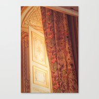 marie antoinette Canvas Prints featuring Antoinette by French Californian