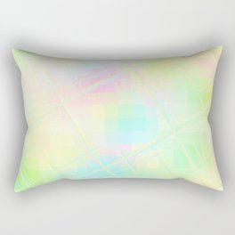 Re-Created Twisted SQ XV by Robert S. Lee Rectangular Pillow