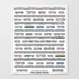 The Transit of Greater Philadelphia Canvas Print