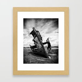 Decayed and Neglected Framed Art Print