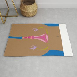 Black Pussy Power - Women's March Art Rug