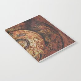 Sao Feng Replica Map Pirates of the Caribbean Notebook