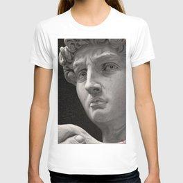 "Michelangelo ""David"" oils T-shirt"