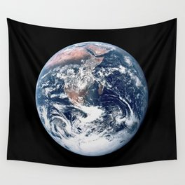 Apollo 17 - Iconic Blue Marble Photograph Wall Tapestry