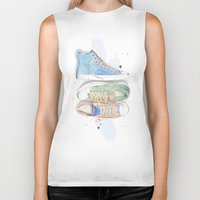converse Biker Tanks featuring Converse Shoes by Jessica Feral