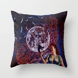 Shadow puppets Throw Pillow