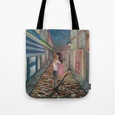 A Kiss in Paris Tote Bag