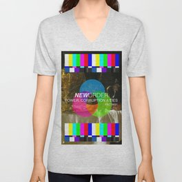 Power, Corruption & Lies Unisex V-Neck