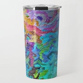 355 - Abstract garden design Travel Mug