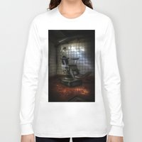 dentist Long Sleeve T-shirts featuring Dentist horror by Cozmic Photos