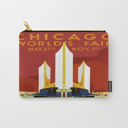 1933 Chicago World's Fair Carry-All Pouch