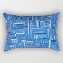 Bloo-bloo-bee-doo! Rectangular Pillow