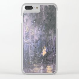No.1/Crying Skies Clear iPhone Case