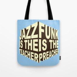 Jazz Funk Cube Tote Bag