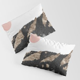 Flatirons Boulder Colorado - Climbing Gold Mountains Pillow Sham