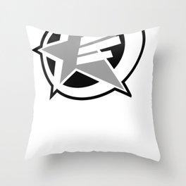 Underground star Throw Pillow
