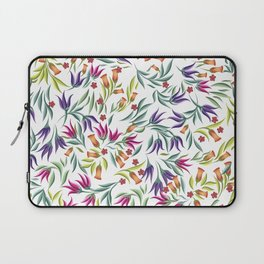 Seamless pattern with different wild flowers Laptop Sleeve