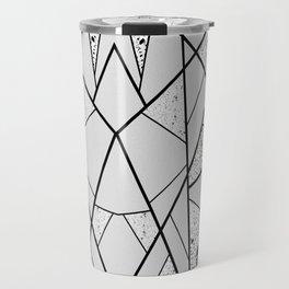 White Break Space Travel Mug