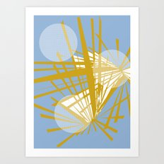 Out of space Art Print