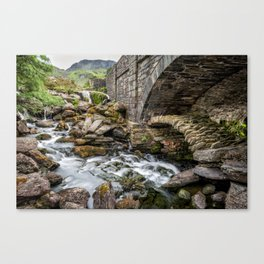 Old Packhorse Bridge  Canvas Print