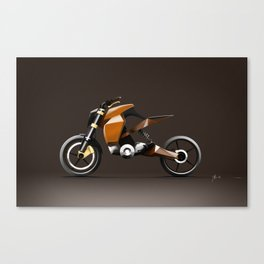 VITESSE :: R01 Concept (Brown) Canvas Print