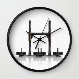 Crossfit Yoke Wall Clock
