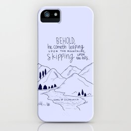 Skipping iPhone Case