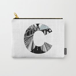 The letter C Carry-All Pouch