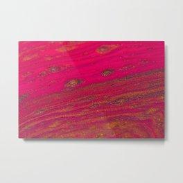 Lifeline Acrylic Pour 2301 Metal Print