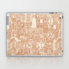 vintage halloween rust ivory Laptop & iPad Skin