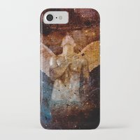 angel iPhone & iPod Cases featuring angel  by mark ashkenazi