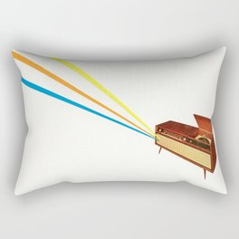Broadcast Rectangular Pillow