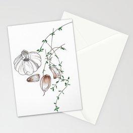 Garlic Pods Stationery Cards