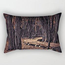 Forest B1 Rectangular Pillow