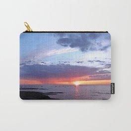 Sunset Rain Cloud Carry-All Pouch