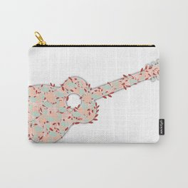 Flower Guitar Carry-All Pouch