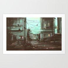 Concept Art   Illustration   Art Print