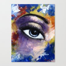 Title: Very Beautiful Eye painting Canvas Print
